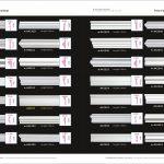 Chỉ khung tranh trơn PU A41114-A42353