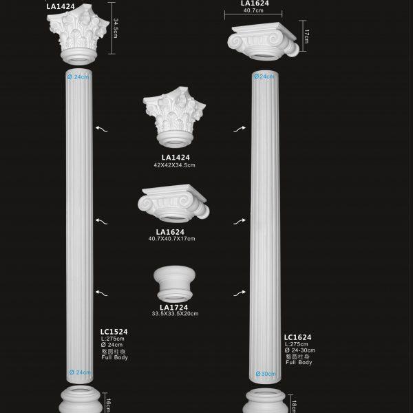 Cột La Mã LA1424-LC1624