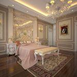 Các mẫu phào chỉ đẹp trang trí nội thất tân cổ điển